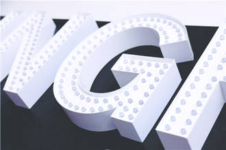 Surface LED Letters & Logos