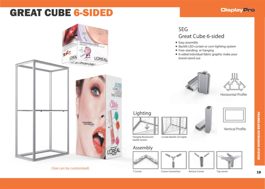 Great Cube 6 Side-945